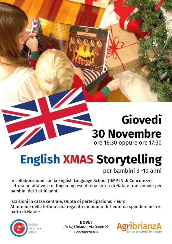 English xmas storytelling natale agribrianza for Agri brianza natale