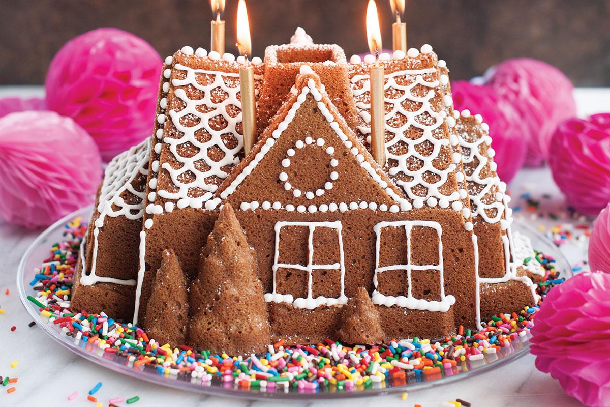 Torte Decorate Per Natale stampi per dolci bundt: una meraviglia di torta | natale