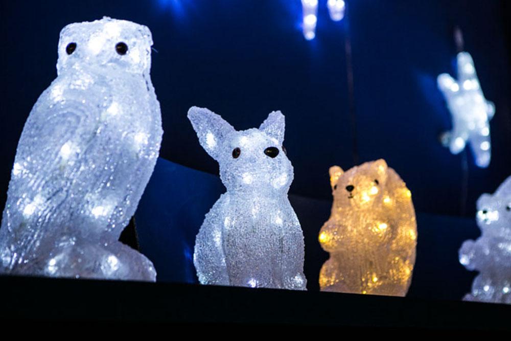 illuminazioni natalizie per esterni