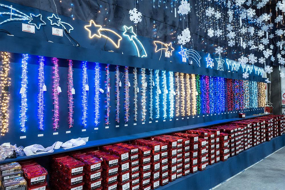 luci per albero di Natale