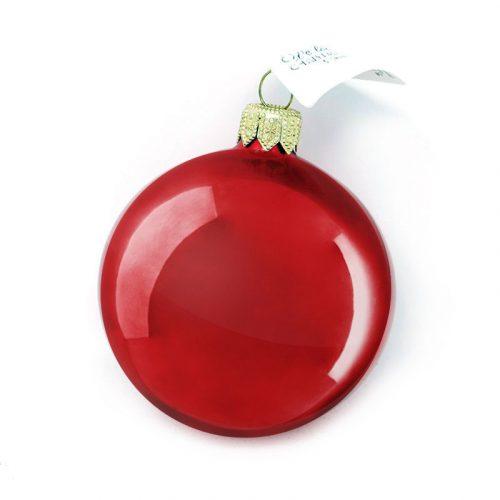 pallina rossa lucida