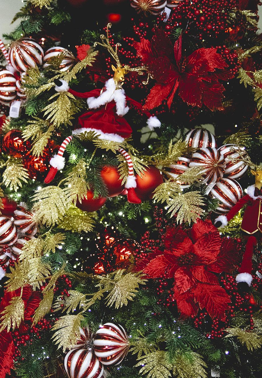 Albero Natale Decorato Rosso albero di natale velvet rouge | natale agribrianza